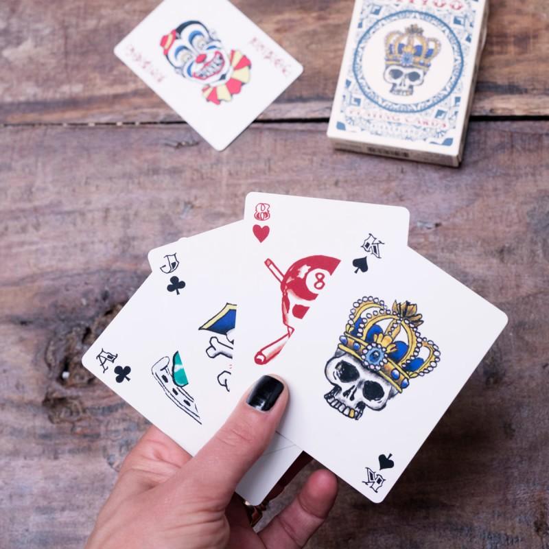 Carte da gioco Tatuaggi (set da 2)