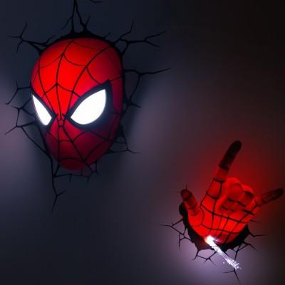 Luci da parete 3D Spider-Man