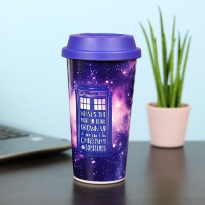 Mug da viaggio Galaxy Doctor Who