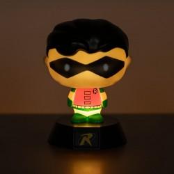 Mini Robin luminoso (acceso)