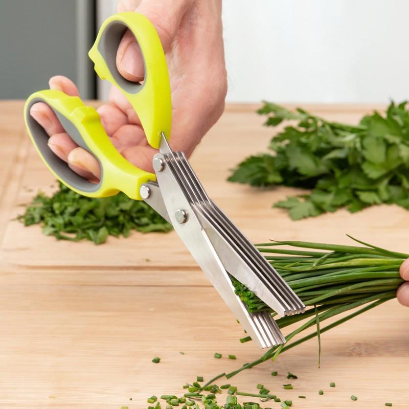 Forbici da cucina multitaglio 5 in 1