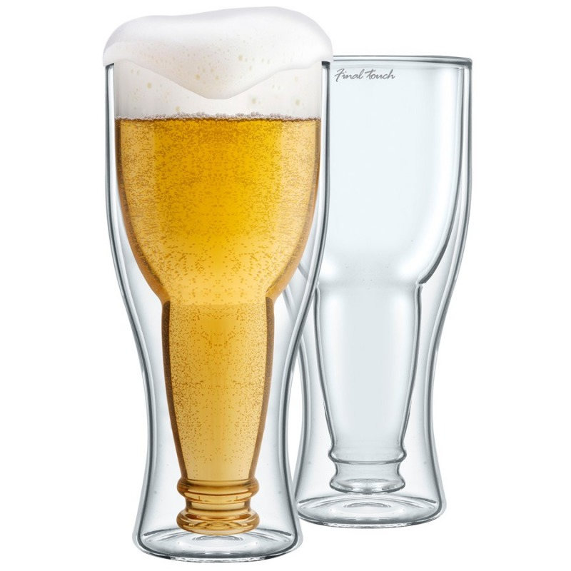 Bicchieri da birra bottoms up dottorgadget for Bicchieri birra prezzi