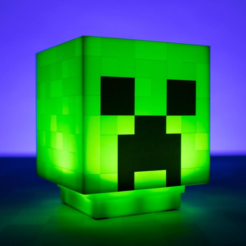Mini Lampada Creeper