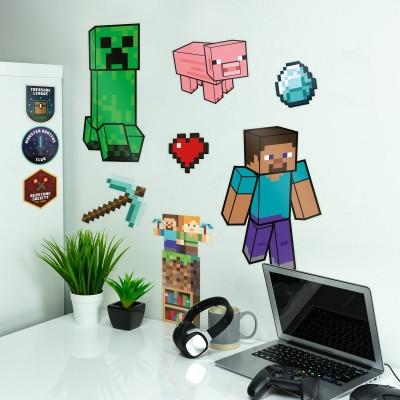 Adesivi da parete Minecraft