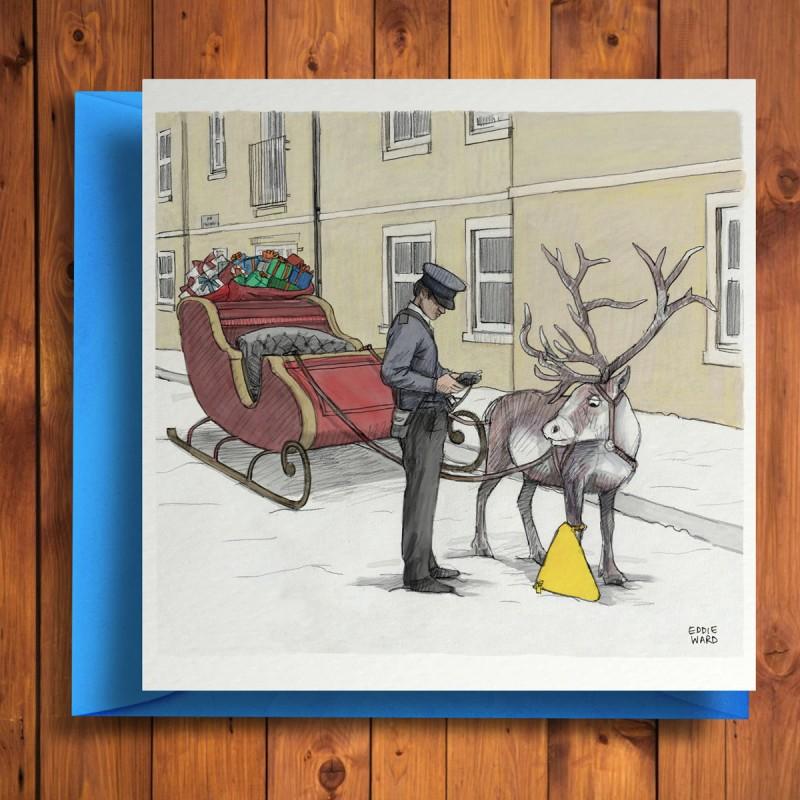 Biglietto di auguri Povero Rudolph