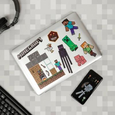 Set di adesivi di Minecraft