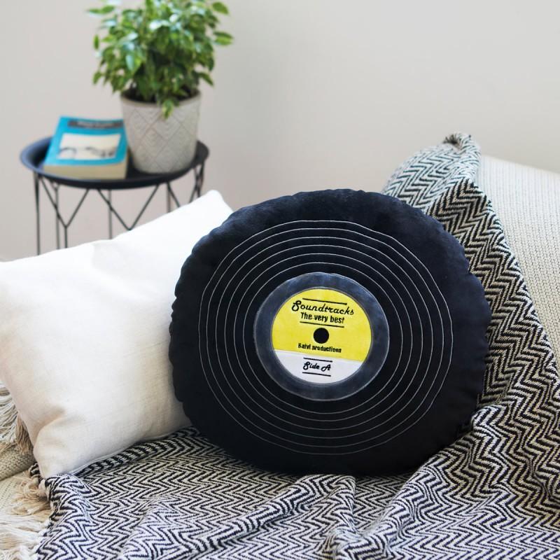 Cuscino Disco in vinile