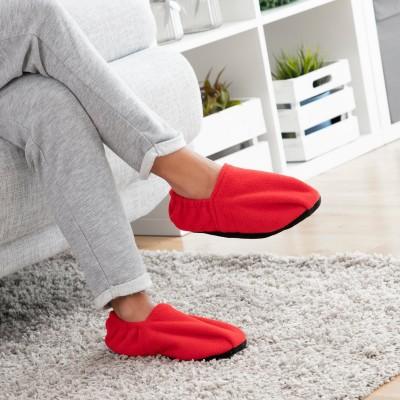 Pantofole riscaldabili nel microonde