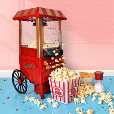 Carretto macchina per popcorn
