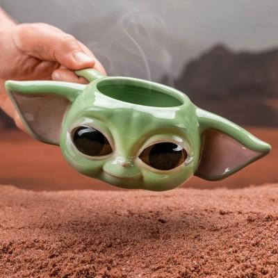 Mug Baby Yoda 3D