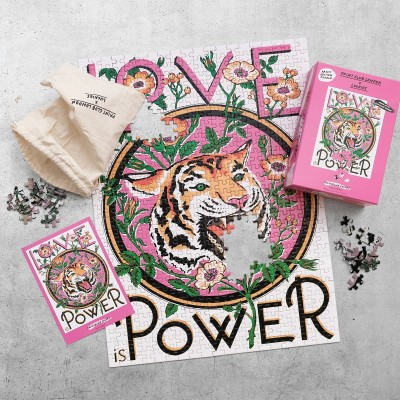 Puzzle Tiger Power
