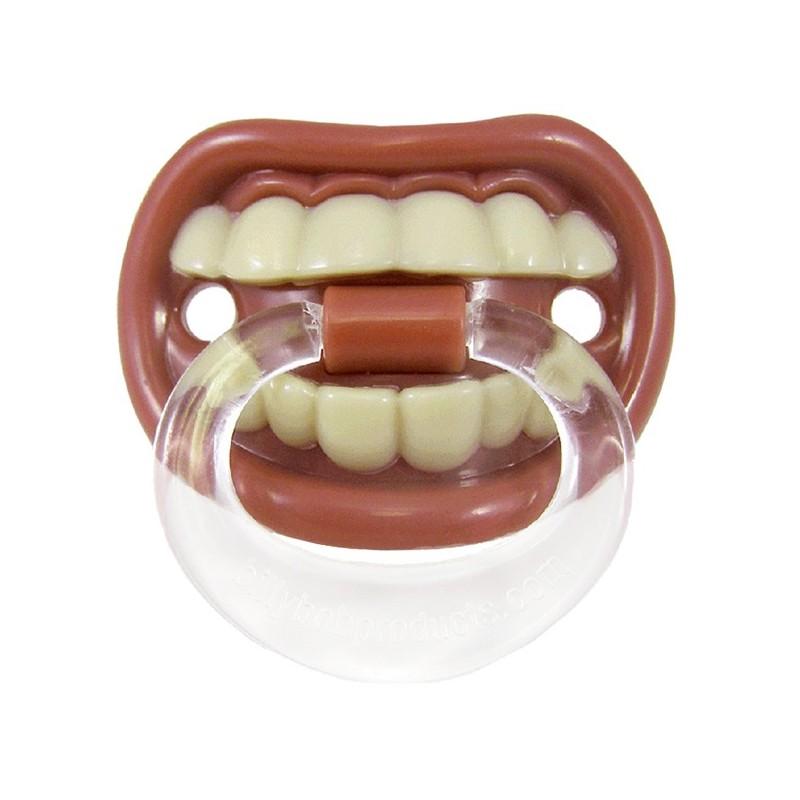 Ciuccio con denti