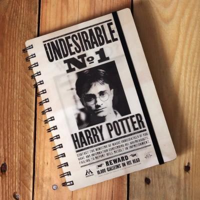Agenda Harry Potter effetto 3D
