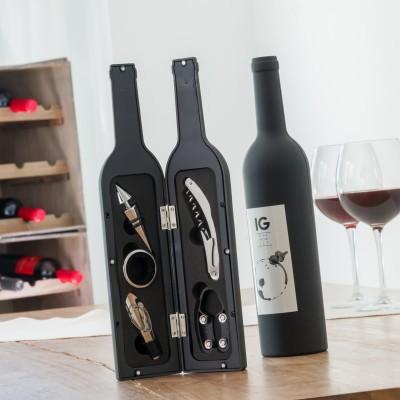 Bottiglia porta utensili da vino