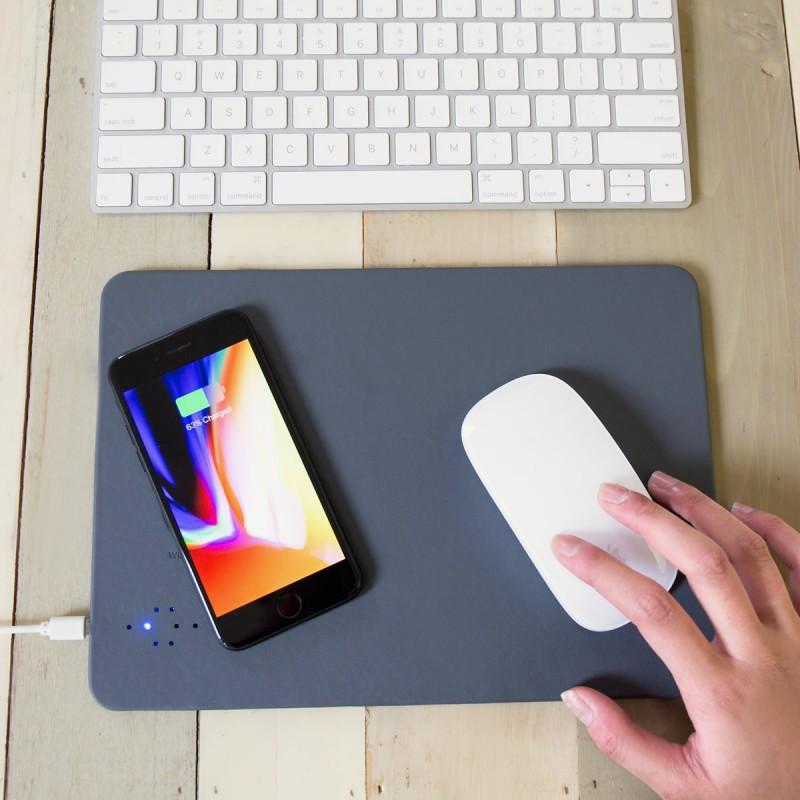 Mousepad con ricarica wireless