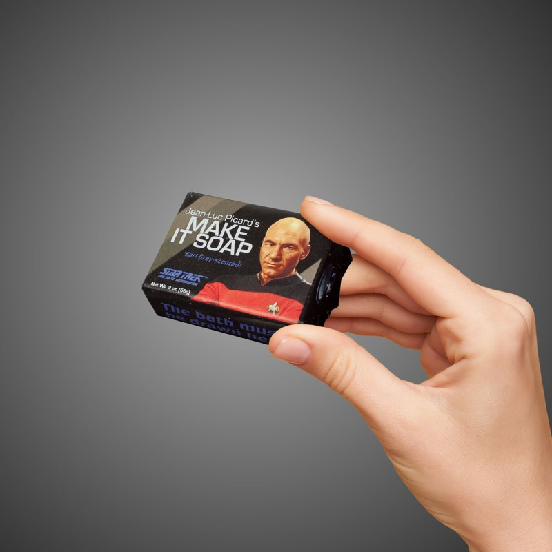 Mini saponetta Capitano Picard