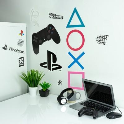 Adesivi da parete PlayStation