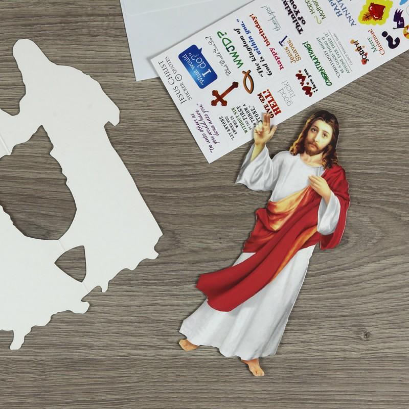 Biglietto di auguri Gesù
