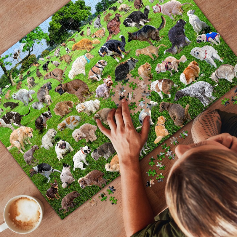 Puzzle Pooping Dogs