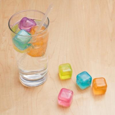 Cubetti di ghiaccio riutilizzabili