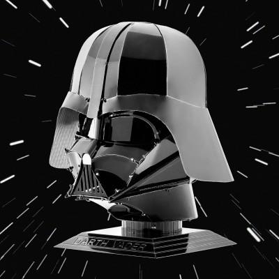 Modellino da montare casco Darth Vader