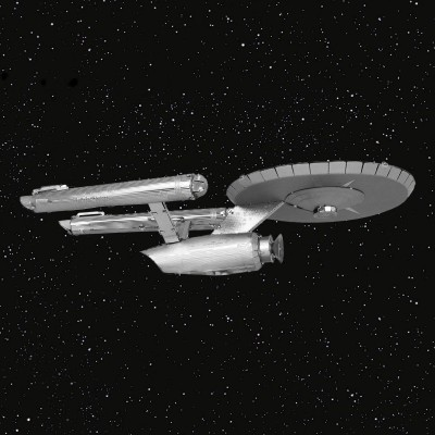 Modellino da montare Enterprise NCC-1701