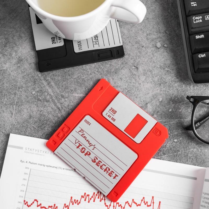 Sottobicchieri Floppy disk (set da 6)