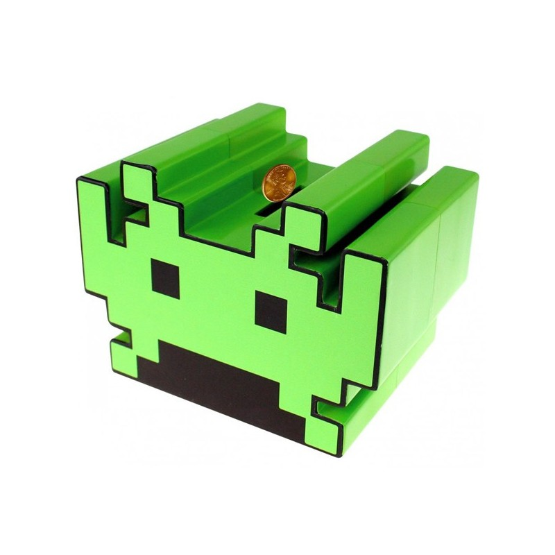 Salvadanaio Space Invaders