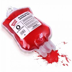 Sapone in sacca di sangue