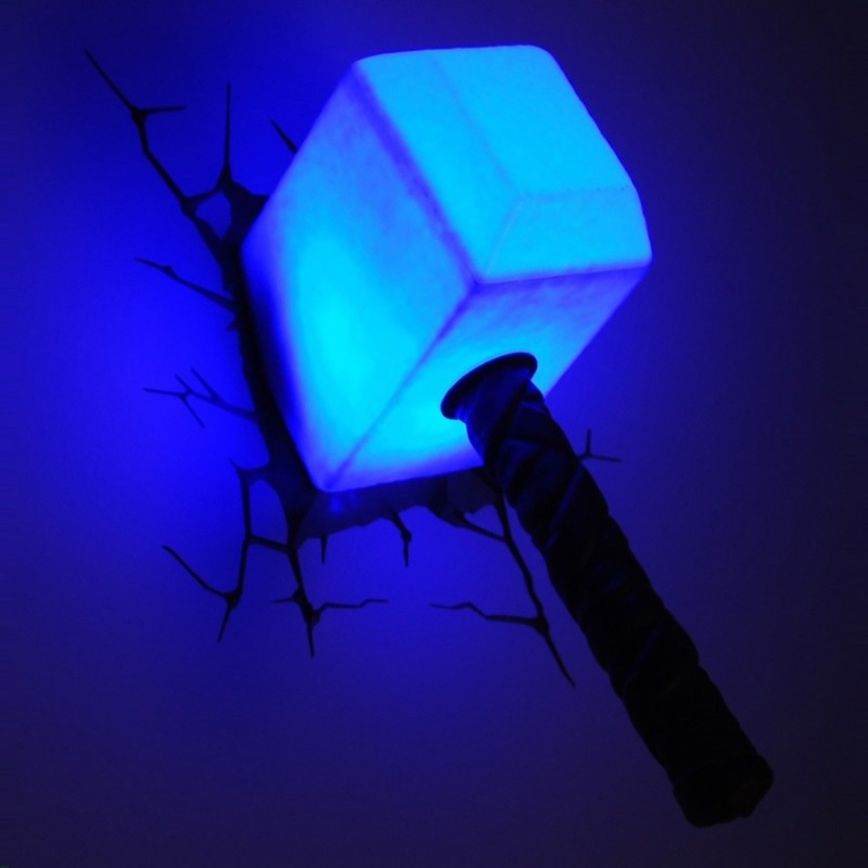 Luce da parete 3D Thor