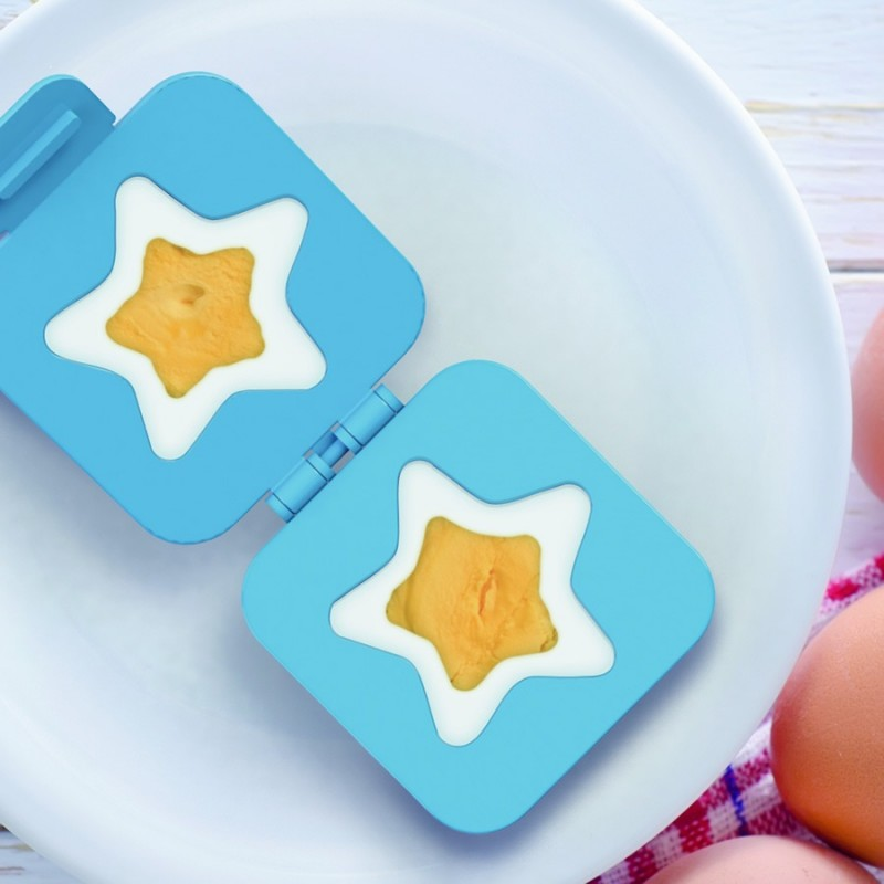Stampo per uova a forma di stella