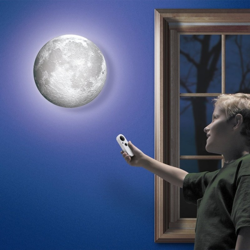 Luna luminosa da Muro