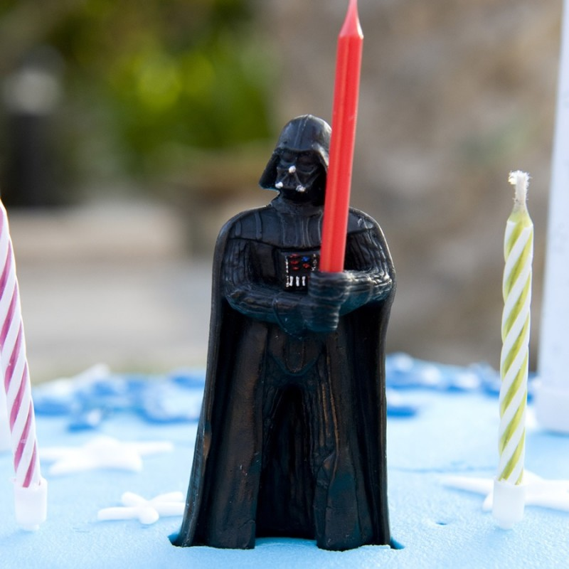Porta candeline Darth Vader