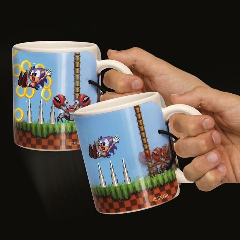 Mug Sonic con cover lenticolare