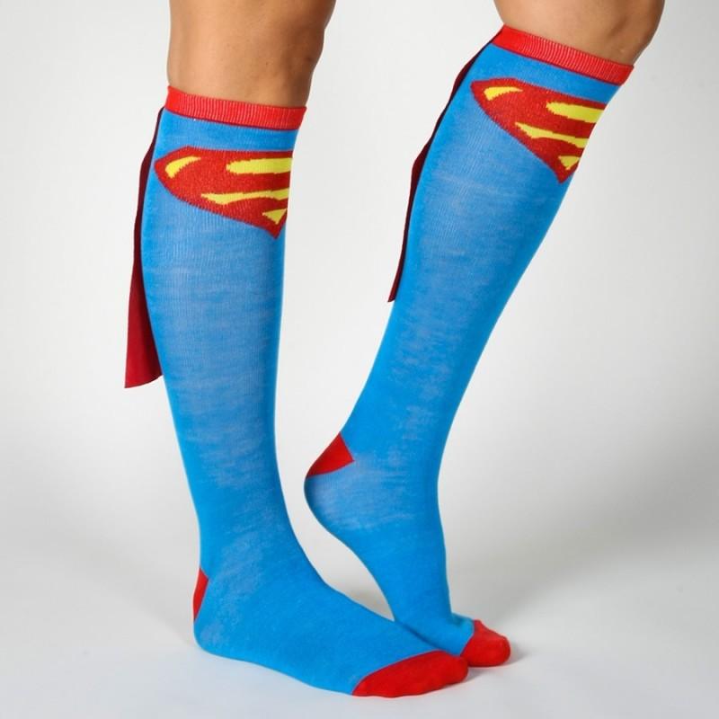 Calze con mantello Superman