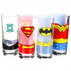 Set Bicchieri Justice League