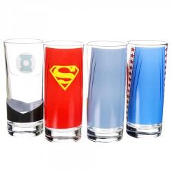 Set Bicchieri Justice League