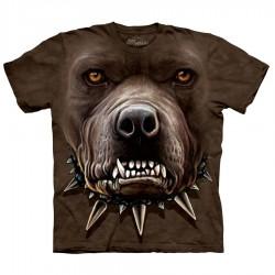 Maglietta Big Face Pit Bull Zombie
