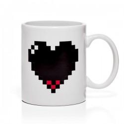 Mug Cuore 8-bit Termosensibile