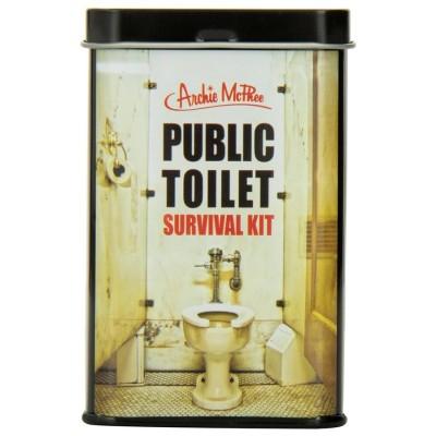 Kit di sopravvivenza per bagni pubblici
