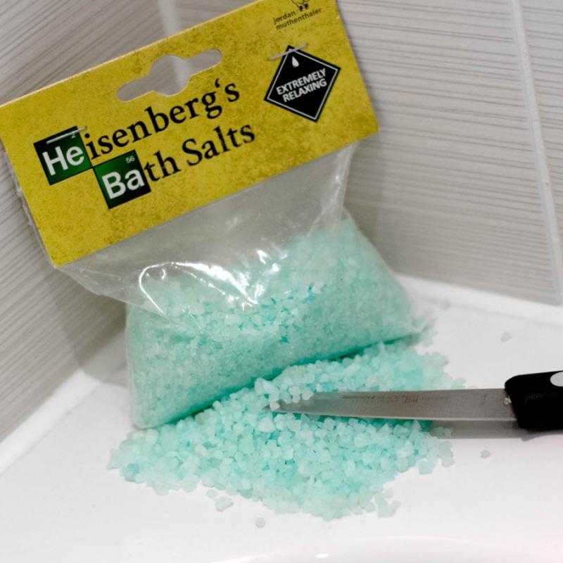 Sali da bagno breaking bad dottorgadget - Sali da bagno colorati ...