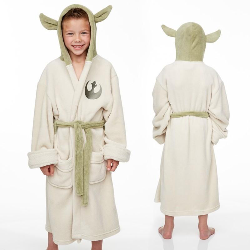 Accappatoio Yoda per bambini