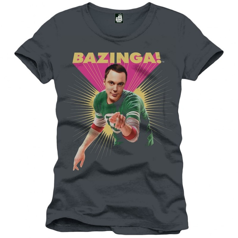 Maglietta Sheldon Cooper Bazinga
