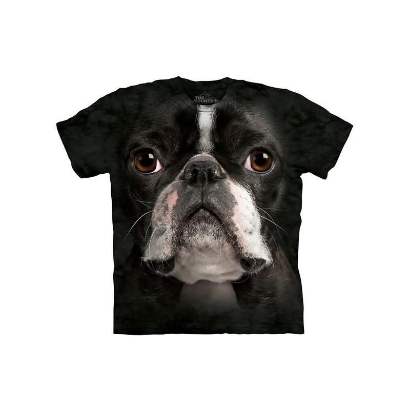 Maglietta Big Face Boston Terrier