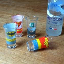 Bicchierini Justice League