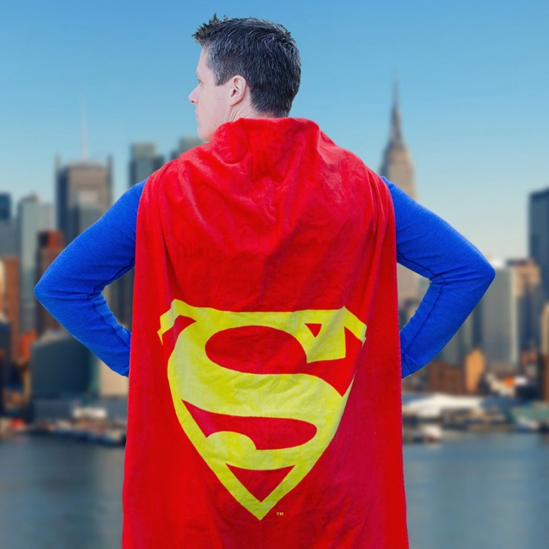Salviettone mantello di Superman