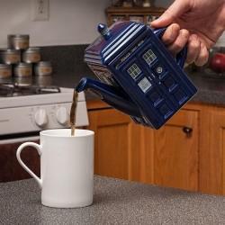 Teiera Doctor Who TARDIS