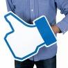"""Mano Gigante """"Mi Piace"""" Facebook"""
