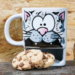 Mug porta biscotti Gatto
