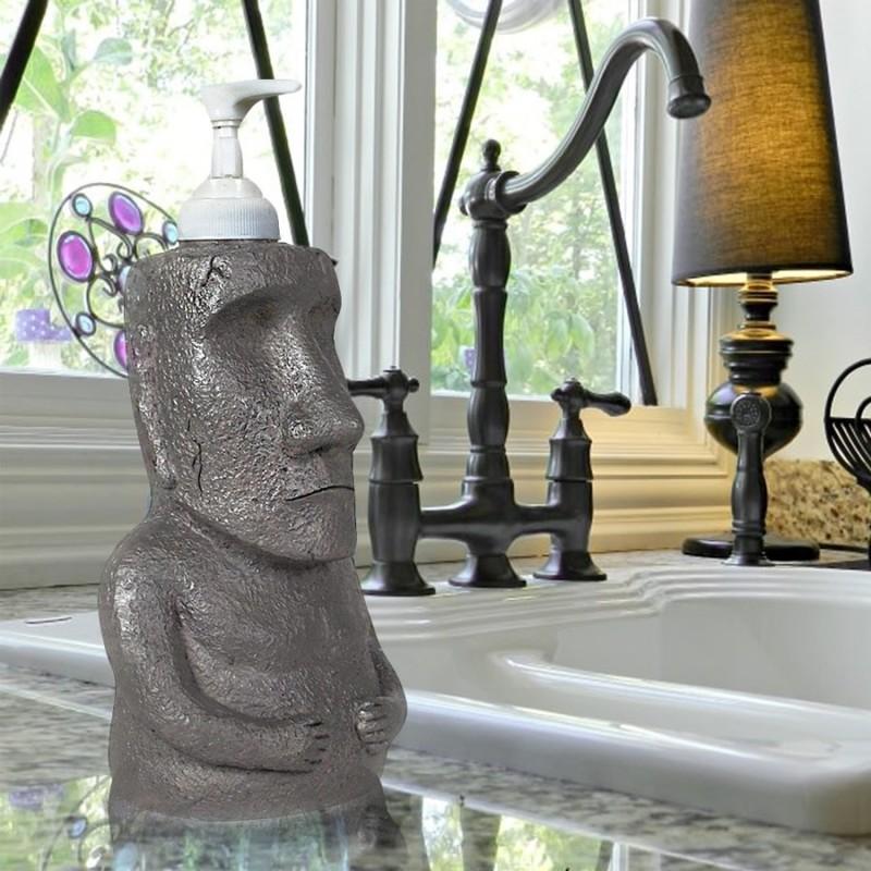 Dispenser di sapone Moai